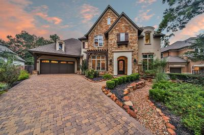 The Woodlands Single Family Home For Sale: 6 Pebble Cove Court