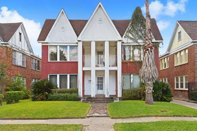 Houston Multi Family Home For Sale: 1916 Calumet Street