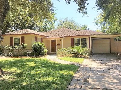 Bellaire Single Family Home For Sale: 4619 Mimosa Drive