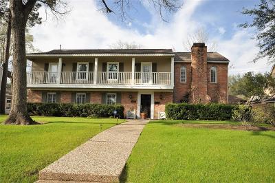 Houston TX Single Family Home For Sale: $645,000