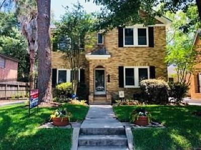 Houston Single Family Home For Sale: 1827 Kipling Street