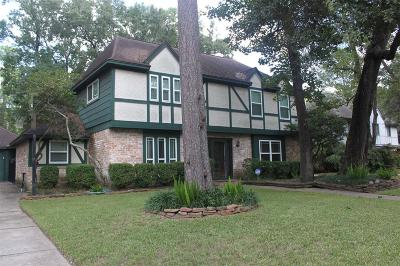Kingwood Single Family Home For Sale: 2219 Hickory Creek Drive