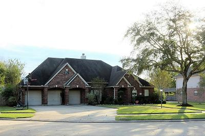 Friendswood Single Family Home For Sale: 2865 Wimbledon Lane