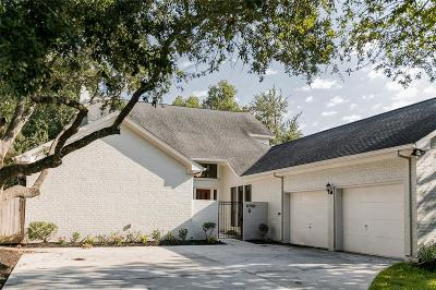 Houston Single Family Home For Sale: 11750 Riverview Drive