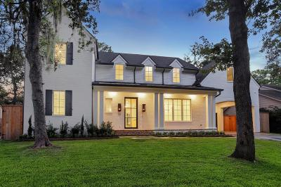Houston Single Family Home For Sale: 123 Fawnlake Drive