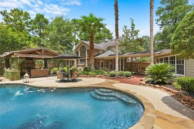 Kingwood Single Family Home Option Pending: 2107 Hickory Village Circle