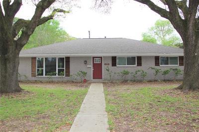 Houston Single Family Home For Sale: 11911 Renwick Drive