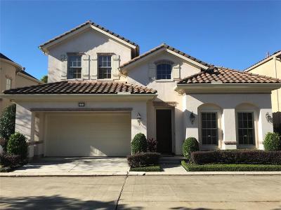 Houston Single Family Home For Sale: 2722 Stuart Manor