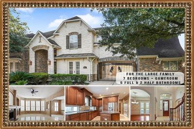 Humble Single Family Home For Sale: 8626 Jackson Creek Bend Lane