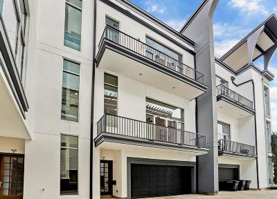 Rice Military Condo/Townhouse For Sale: 4218 Gibson Street #B