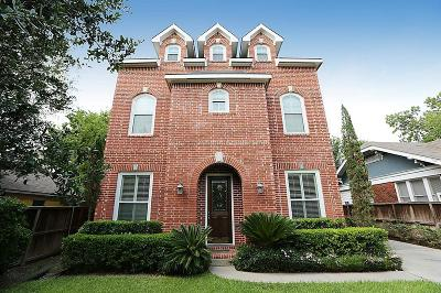 Houston Single Family Home For Sale: 1746 W Main Street