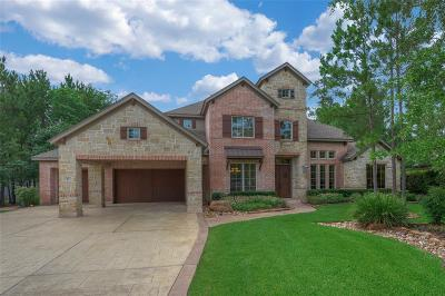 The Woodlands TX Single Family Home For Sale: $1,395,000