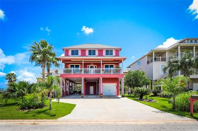 Galveston Single Family Home For Sale: 3726 Marina Boulevard