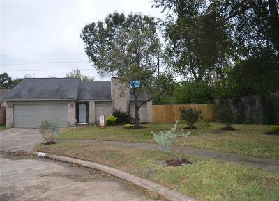 Houston TX Single Family Home For Sale: $136,000