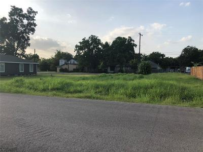 Harris County Residential Lots & Land For Sale: Blue Street