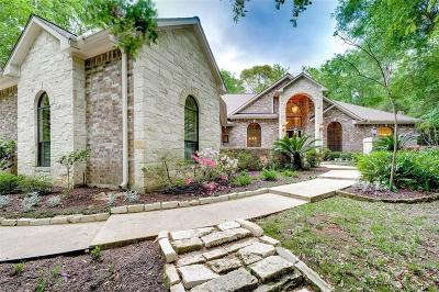 Conroe Single Family Home For Sale: 7463 Enchanted Stream Drive