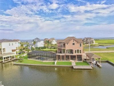 Hitchcock Single Family Home For Sale: 10 Half Moon