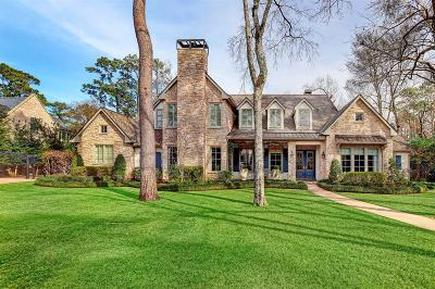 Houston Single Family Home For Sale: 518 Wellesley Drive