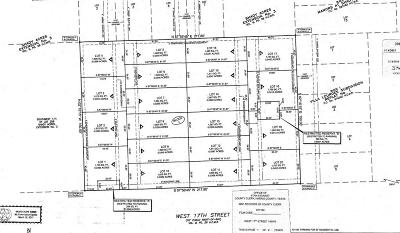 Residential Lots & Land For Sale: 1129 & 1139 W 17 Street