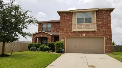 Manvel Single Family Home For Sale: 2630 J R Drive