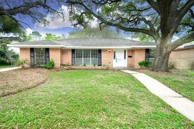 Houston Single Family Home For Sale: 5446 Beechnut Street