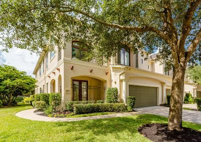 Sugar Land Condo/Townhouse For Sale: 21 Sweetwater Ct