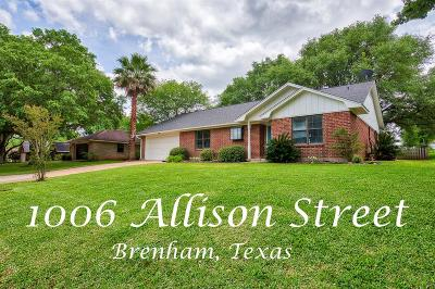 Washington County Single Family Home For Sale: 1006 Allison Street