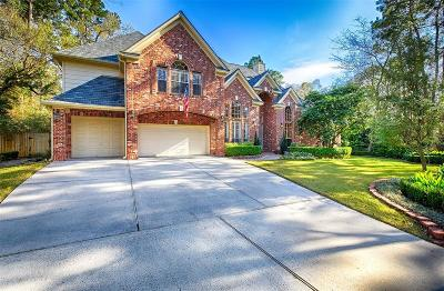 The Woodlands Single Family Home For Sale: 2816 W Wildwind Circle