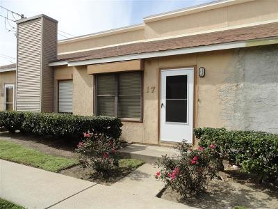 Galveston Condo/Townhouse For Sale: 3700 83rd Street #17
