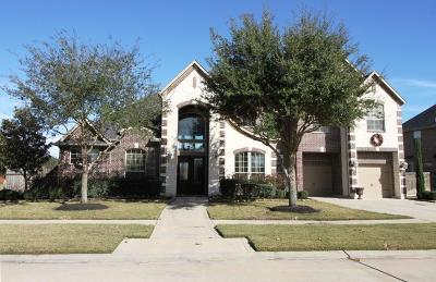 Fulshear Single Family Home For Sale: 6303 Flewellen Falls Lane