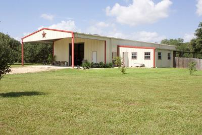 Wharton County Farm & Ranch For Sale: 495 Cr 379