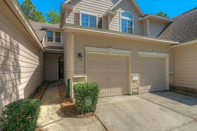 The Woodlands Condo/Townhouse For Sale: 83 E Greenhill Terrace Place