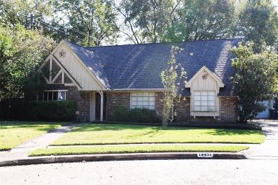 Houston Single Family Home For Sale: 12451 Kimberley Lane