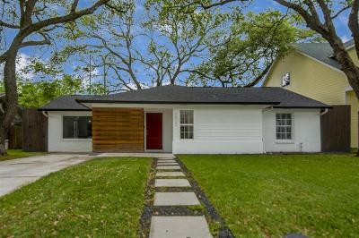 Bellaire Single Family Home For Sale: 4612 Beech Street