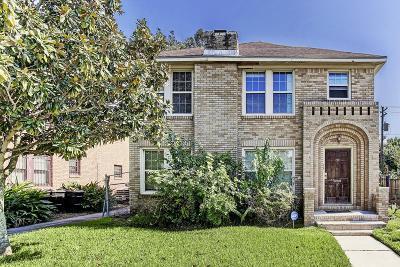 Houston Multi Family Home For Sale: 2907 Rosedale