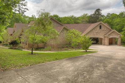 Conroe Single Family Home For Sale: 7421 Enchanted Stream Drive