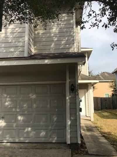 Dickinson, Friendswood Condo/Townhouse For Sale: 282 Brandy Ridge Lane