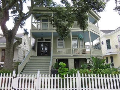 Galveston Single Family Home For Sale: 3524 Avenue O