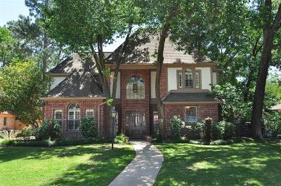 Kingwood Single Family Home For Sale: 5606 Sycamore Creek Drive
