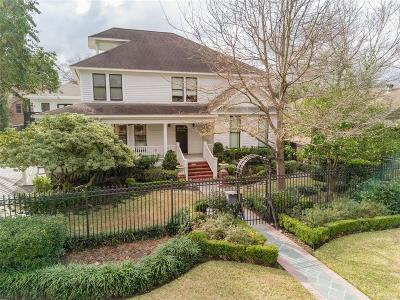 Houston Single Family Home For Sale: 2615 Beauchamp Street