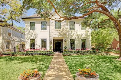 Houston TX Single Family Home For Sale: $1,899,000