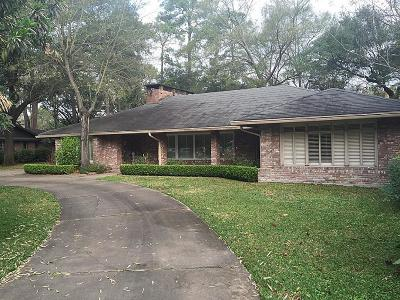 Houston TX Single Family Home For Sale: $1,050,000