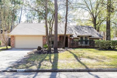 Kingwood Single Family Home For Sale: 2102 Oak Shores Drive