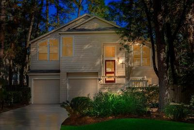 The Woodlands Single Family Home For Sale: 6 Shallow Pond Place