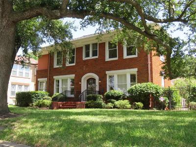 Galveston Single Family Home For Sale: 20 Cedar Lawn Circle