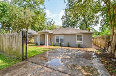 Houston Single Family Home For Sale: 8146 Record Street
