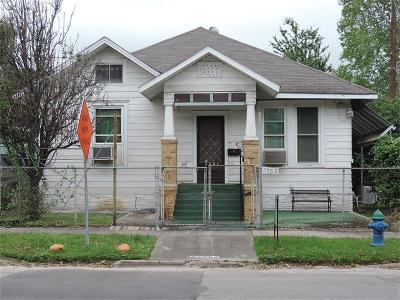 Houston Single Family Home For Sale: 2902 Houston Avenue