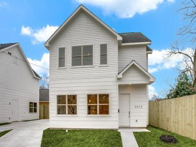 Houston Single Family Home For Sale: 3610 Runnels Street