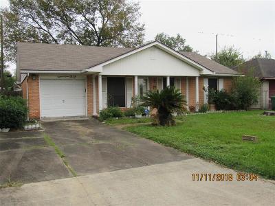Houston Single Family Home For Sale: 1815 Teanaway Lane