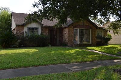 Houston Single Family Home For Sale: 8106 Dillon Street